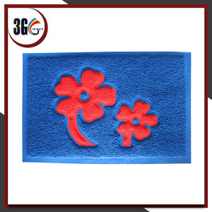 Comfortable PVC Entrance Flower Door Mat pictures & photos