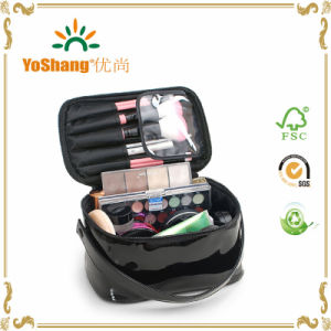Lady′s High Capacity PVC Cosmetics Bag Waterproof Makeup Organizer Wash Pouch Beauticians Need Travel Case pictures & photos