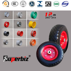 4.10/3.50-4 Heavy Duty Solid Tire for Trolley/Wheelbarrow pictures & photos