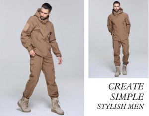 OEM Warm Soft Windproof Uniform Military Plain Men′s Suit Jacket pictures & photos