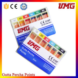 Umg Dental Supply Dental Gutta Percha Points for Sale pictures & photos