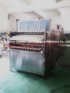 Automatic Glass Bottle Washer with Drying & Sterilizing (GHHXP-8-12) pictures & photos