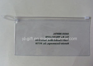 Customized Printing PVC Zipper Bag with Clear Handle pictures & photos