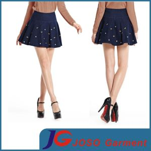 Women Denim A Line Skirts (JC2110) pictures & photos