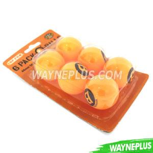 Bp PRO 6 Pack Seamless Pingpong Balls - Wayneplus
