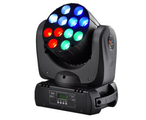 12PC 10W 4-in-1 LED Beam Moving Head pictures & photos