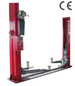 Two Post Hydraulic Lift with Faster Lifting Speed pictures & photos