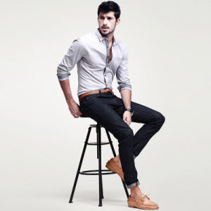 Latest Shirt Designs for Men Custom Man Shirt pictures & photos