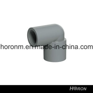 CPVC Sch80 Water Pipe Fitting (REDUCING THREAD ELBOW) pictures & photos