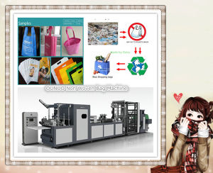 Non Woven Eco Friendly Bags Making Machine pictures & photos