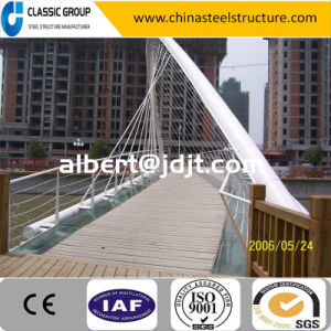 Pipe Truss Pre Engineering Steel Structure Arch Bridge Cost pictures & photos