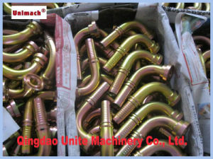 Forged 90 ° Bsp Female 60° Cone British Hydraulic Fitting pictures & photos