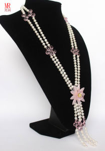 Long Freshwater Pearl Necklace pictures & photos