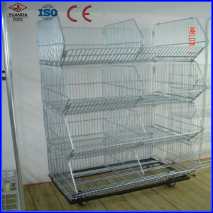 Folding Stacking Wire Mesh Cage with Various Sizes (YD-F6) pictures & photos
