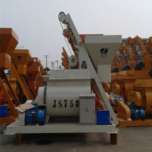 Popular Concrete Machine Js750 Ready Mix Concrete Mixer pictures & photos