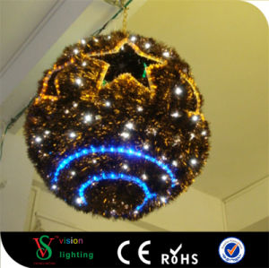 LED Tinsel Christmas Ball Motif Lights pictures & photos