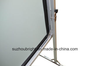 Rear and Front Projection Screen Outdoor Screen Foldable 300 Inch Fast Folding Projector Screen pictures & photos