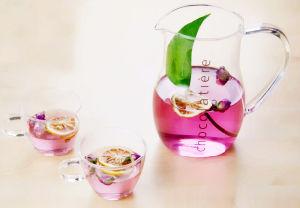 1000ml High Borosilicate Glass Fruit Juice Pot Coffee Pot Juicer with Handle pictures & photos