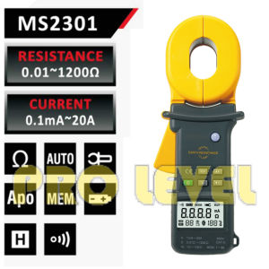 High Accuracy Earth Resistance Clamp Meter (MS2301) pictures & photos