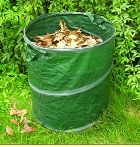 Pop up Leaf Bag Collapsible Leaf Bag Foldable Leaf Bag pictures & photos