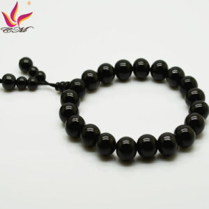 Tmb-021 10mm Fashion Buddha′s Head Beads Bangle in Healtch Care Tourmaline Beads Jewelry pictures & photos