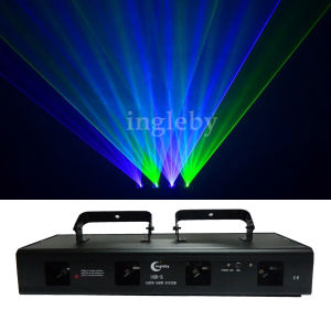 Four Colors DJ Laser Light Show Beam Light