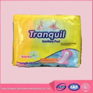 Cheap Good Qualtiy Softcare Tranquil Brand Sanitary Napkin Pad for Africa Market pictures & photos