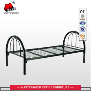 Cheap Price Steel Metal Single Bed for Worker pictures & photos