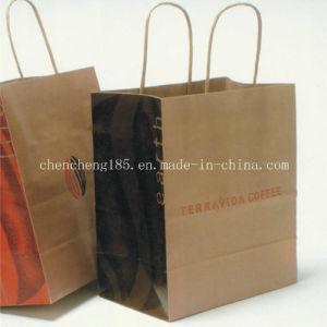 Custom Kraft Paper Bag /Shopping Paper Bag Fk-166 pictures & photos