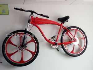 Motorized Bicycle with Mag Wheel, Motor, Gasoline Engine Bicycle, 26 Inch Wheel pictures & photos