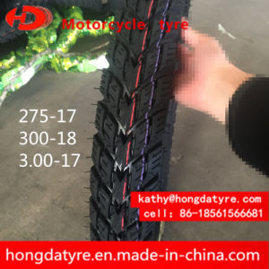 Hot Sale Wholesale Top Quality Chinese Tyre Motorcycle Tire Emark Certificate 275-17, 300-17, 325-16, 3.00-18 Lug Pattern pictures & photos
