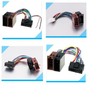 Automobile Car Pioneer/Jvc/for Sony/Alpine Audio Wire Harness pictures & photos