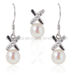 Silver Jewelry with Fresh Water Pearl