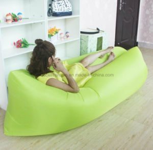 Nylon Polyester Portable Air Sofa for Summer Camping Beach pictures & photos