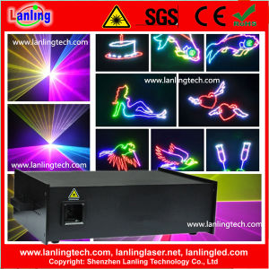 5W Full Color RGB Animation Laser with Logo Projector pictures & photos