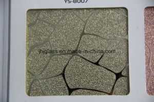 Supply Ice Flower Glass, UV Glass, Back Coating Glass for Decorating pictures & photos