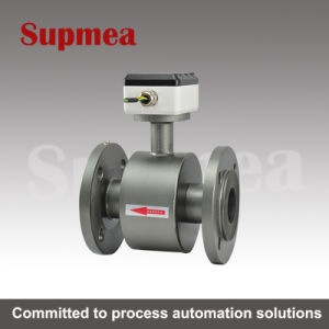 Supmea 316ss Stainless Steel Thread Connection Electromagnetic Flow Sensor pictures & photos