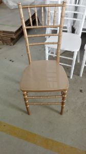 Wood Shiny Gold Chiavari Chair, Tiffany Chair by Manufacture pictures & photos