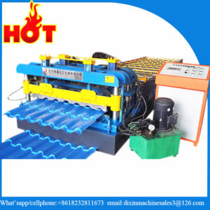 Color Steel Sheet Glazed Tile Roll Forming Machine pictures & photos