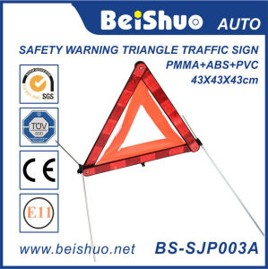 Reflective Car Triangle Warning Sign pictures & photos