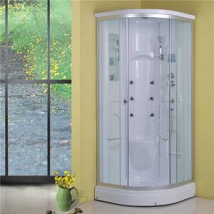Corner Batahroom White 90X90 Quadrant Shower Cabin Cheap pictures & photos