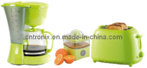 3 in 1 Breakfast Kit (Coffee maker/Toaster/Juicer extractor)