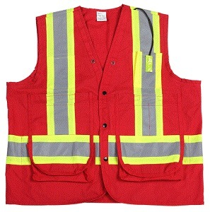 2015 New Design Hi-VI Reflective Safety Vest with Pockets pictures & photos