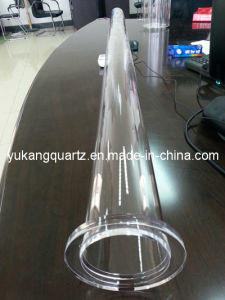 High Qualiy Clear Quartz Furnace Tube pictures & photos