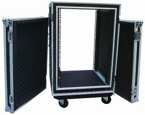 Flight Case 2-Door Shockproof Rack for AMP pictures & photos