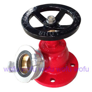 "2.5"" Landing Valve, Red Color, Flange Type pictures & photos"