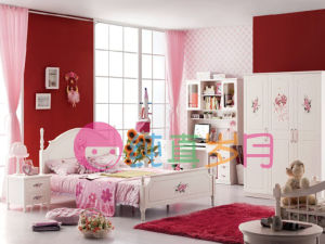 Lovely Simple Deisgn Kids Bedroom Furniture (5180)