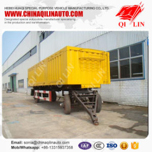 2 Axle Full Truck Drawbar Dolly Trailer for (sidewall) pictures & photos