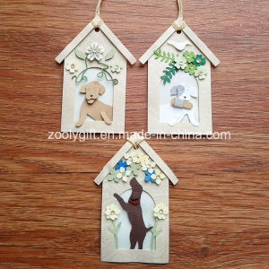 Personalized Decorative Dog House Shape DIY Paper Craft pictures & photos