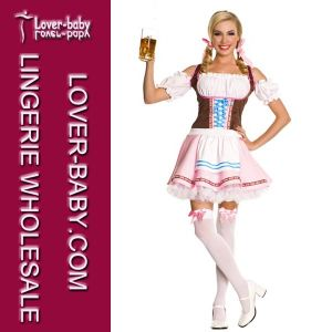 Adult German Beer Girl Germany Costume (L1411) pictures & photos